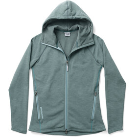 Houdini Outright Houdi Fleece Jacket Dame light storm green